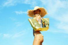 Borsa Mare WyandOtte Cocco Oro/Trasparente http://bit.ly/WaOmare