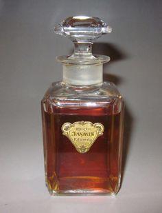 "Rare Old Vintage ""Jasmin"" Baccarat Patanwala Paris France Perfume Bottle 1920s | eBay"