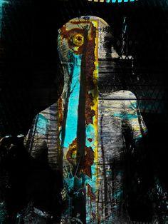 'The captured woman' von Gabi Hampe bei artflakes.com als Poster oder Kunstdruck $20.79