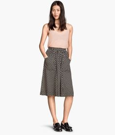 Knee-length Skirt | Product Detail | H&M I have this great skirt