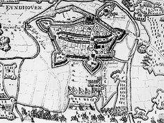map circa 1500 van Eindhoven