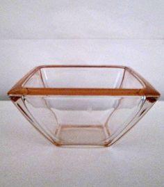 Porta cioccolatini in vetro misure 7,5x9,5 gafo