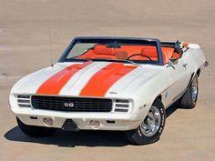 '69 Camaro. Perhaps the most beautiful car ever.
