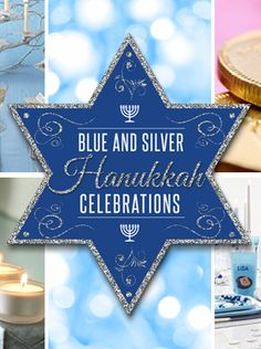 A great blog about Blue & Silver #Hanukkah Celebrations. Let me whine, nu? We have some time yet, let's enjoy Passover :)