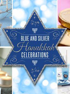 A great blog about Blue & Silver #Hanukkah Celebrations