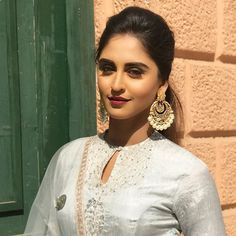 Waiting for perfect is never as smart as making progress ☑️ Bollywood Dress, Bollywood Wedding, Stylish Girl Images, Stylish Girl Pic, Krystal Dsouza, Ethnic Trends, Neck Designs For Suits, Kurta Designs Women, Indian Designer Outfits
