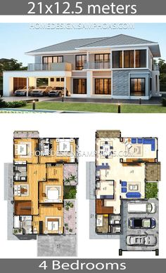 House Plans Idea 5 with 4 bedrooms - Home Ideas - House Plans Idea 21 12 5 with 4 bedrooms Home Ideassearch - Sims House Plans, Porch House Plans, House Layout Plans, Open House Plans, Modern House Floor Plans, Southern House Plans, Bedroom House Plans, Craftsman House Plans, Dream House Plans