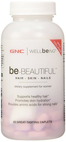 GNC Be-Beautiful Hair Skin Nails 60 Caplets dietary supplement for women - http://www.dietingstore.com/gnc-be-beautiful-hair-skin-nails-60-caplets-dietary-supplement-for-women-3/ $ 37.98 Vitamins & Di