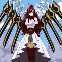 Erza Scarlet, Fairy Tail, Icons, Anime, Art, Art Background, Symbols, Kunst, Fairytail