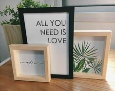 Need Love, Frame, Home Decor, Palm Trees, Picture Frame, Decoration Home, Room Decor, Frames, Home Interior Design