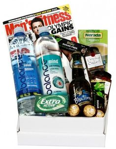 Hobby Hampers - Balance Gift Box For Him, $89.50 (http://www.hobbyhampers.com.au/balance-gift-box-for-him/)