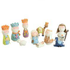 Clay Dough Nativity Set – Heart & Home