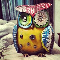 License plate owl