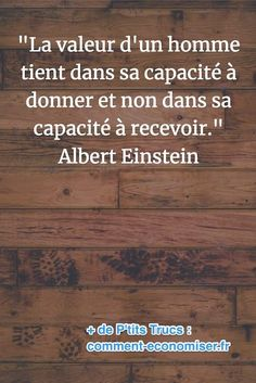 Quotes and inspiration QUOTATION – Image : As the quote says – Description citation de Albert Einstein sur la valeur d'un homme Sharing is love, sharing is everything Citations D'albert Einstein, Citation Einstein, Quote Citation, Albert Einstein Quotes, Motivational Quotes For Women, Inspirational Quotes, Top Quotes, Life Quotes, French Quotes