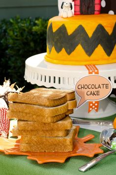Double the Fun Parties' Charlie Brown Thanksgiving Party (party plan and party kit available)
