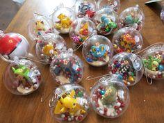 DIY Pokemon Christmas Decorations / Ornaments