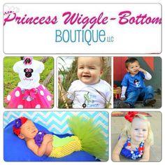 Visit www.facebook.com/PrincessWiggleBottom to see more!