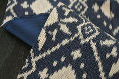 Vintage Woven Silk Kimono with Exotic Beige and by sakurayamato, $40.00