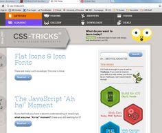 CSS Tricks - http://css-tricks.com/