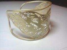 Butterfly Filligree Goldtone Cuff Bracelet - Avon $11.99