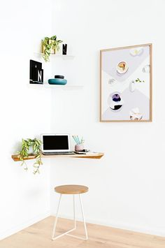 No Room to Work at Home? Offices that Fit into the Smallest of Spaces   Apartment Therapy