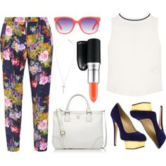 """""""Floral"""" by sarahdietz1 on Polyvore"""