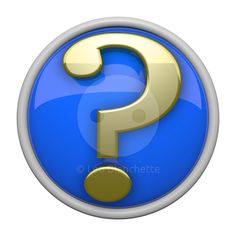 3d Question Mark Icon Jpg Png Stock Image