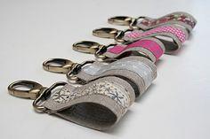 porte clés à faire en cuir