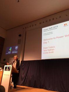 Professor Linda Scott - Opening Day #PowershiftForum #PowerShift15 #Oxford #womenseconomy
