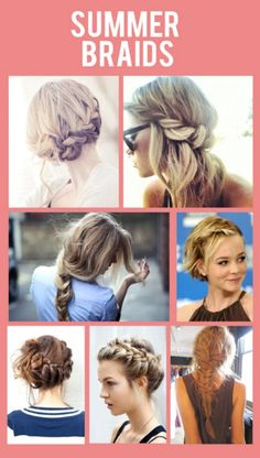 Be Unique With Awesome Summer Braids - 35 Summery DIY Projects And Activities For The Best Summer Ever