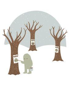 Wanted by Jean-sébastien Deheeger #illustration #greetingcard