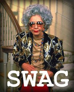Thanks for blessing us with your swag grandma Yetta. | 16 Reasons Why Grandma Yetta Had The Most Swag In The Fine Family