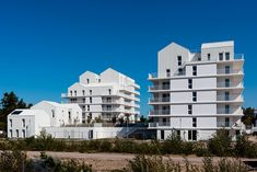 96 logements collectifs, écoquartier Ginko  | Marjan Hessamfar & Joe Vérons architectes associés