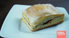 Zdjęcie Szarlotka z połówkami jabłek - Pyszna i szybka! #22 Sandwiches, Food, Essen, Meals, Paninis, Yemek, Eten