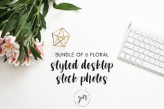Florals | 6 Stock Image Bundle by Graceful Market on @creativemarket
