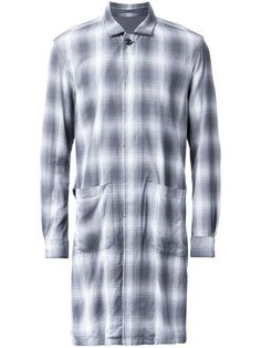 ATTACHMENT long plaid coat. #attachment #cloth #코트
