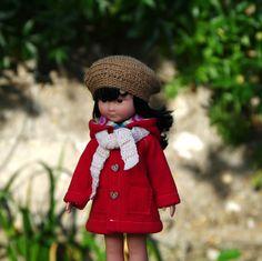 vêtements manteau bonnet écharpe pour poupée type les Chéries de Corolle 32/33…