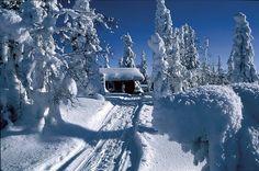 Wintercottage Finland