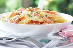 BBQ Scalloped Potatoes recipe