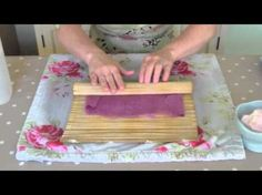 ▶ Felt Making Tutorial - YouTube