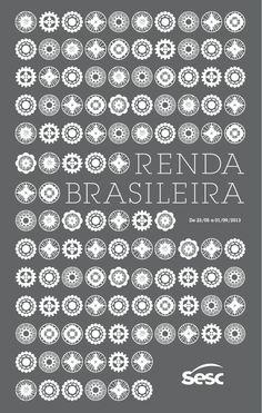 EXPOSIÇÃO RENDA BRASILEIRA – 2013 - Capa do folheto