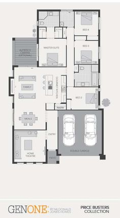 McDonald Jones Homes - Parkroyal Collection - Floorplan #Floorplans #luxuryhome