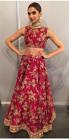 Deepika Padukone does it again at the IFFA 2016 Awards night! She looks absolutely stunning in a ivory laced Sabyasachi gown. The designer's inspiration comes from a Spanish bullfighter which…