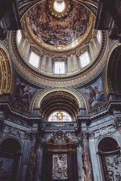 architecture - Around the world. Architecture Baroque, Beautiful Architecture, Beautiful Buildings, Architecture Design, Beautiful Places, Cathedral Architecture, Architecture Today, Renaissance Art, Kirchen