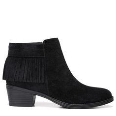 Naturalizer Women's Zeline Narrow/Medium/Wide Booties (Black Leather)