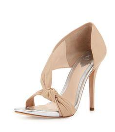 B Brian Atwood heels - nude heels on redsoledmomma.com