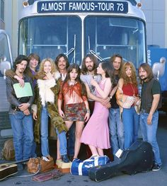 Almost Famous. <3  Love love love this movie.   In my early twenties I was the penny lane and this movie forever means so much.