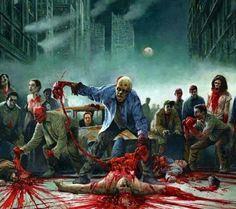 Zombie party tray!