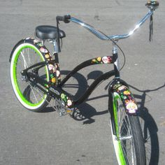 Sugar Skull Bike by Electra I must have this!!