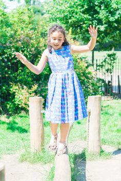 Flamingo Dress - Designer Rachel Riley Girls Fashion, girls summer dress, Girls style, Kids Fashion, Girls FASHION Photography, The Inspiration Edit